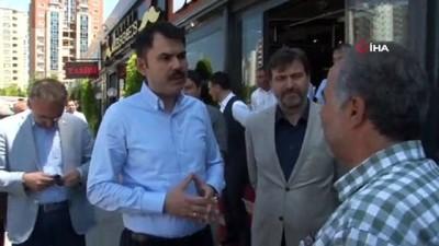 Çevre Bakanı Murat Kurum'u terleten Matematik sorusu