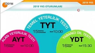 ÖSYM Başkanı Prof. Dr. Halis Aygün'den YKS adaylarına uyarılar