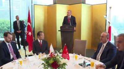 cesar - Cumhurbaşkanı Erdoğan: 'İkili ticaretimizi daha dengeli bir yapıya kavuşturmamız gerekiyor' - TOKYO
