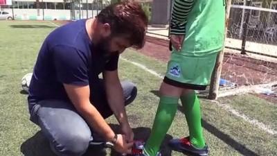 bedensel engelli - Engelleri futbolla aşmak istiyor - ŞANLIURFA