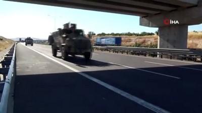 zirhli araclar -  Akçakale sınırına zırhlı araç sevkiyatı