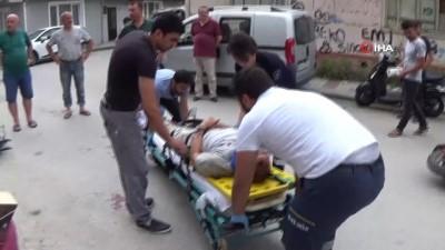 elektrikli bisiklet -  Bisikletler kafa kafaya çarpıştı: 2 yaralı