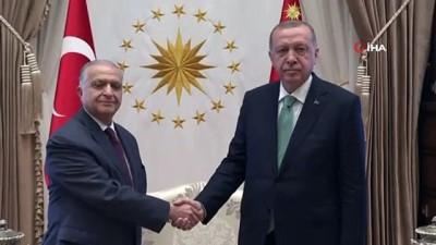 Cumhurbaşkanı Erdoğan Irak Dışişleri Bakanı ve Savunma Bakanını kabul etti