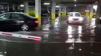 siddetli yagis -  Devrek'te şiddetli yağış su baskınlarına neden oldu