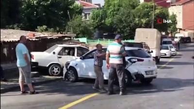 İstanbul'da alkollü aday sürücü dehşeti kamerada