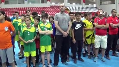 Minikler İl Karmaları Hentbol Türkiye Şampiyonası başladı