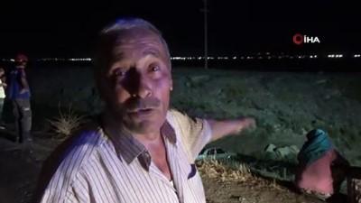 Su kanalına otomobil düştü, sürücü 12 saattir bulunamıyor