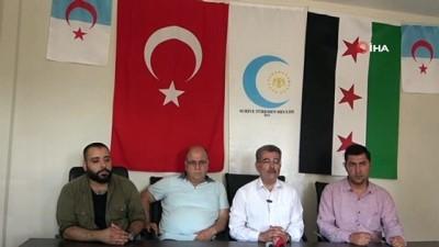 Suriye Türkmen Meclisi Başkanı Cuma'dan Hatay'daki Türkmenlere ziyaret