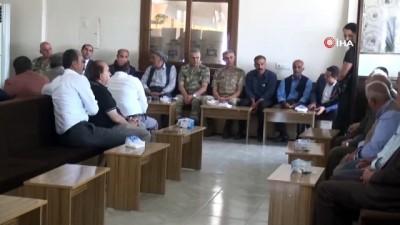 Vali Aktaş Silopi'de taziye ziyaretlerine katıldı
