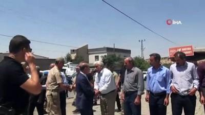 Vali Aktaş'tan teröristlerce katledilen çobanın ailesine taziye ziyareti