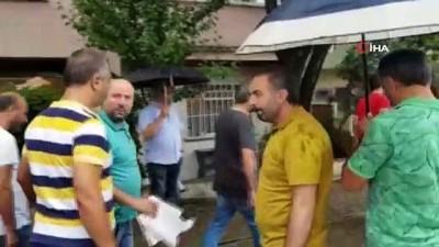 Gemlik'te izinsiz eyleme 8 gözaltı