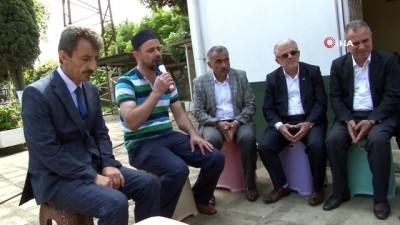 Hükümlüler Trabzon Şehitliği'ndeki mezar taşlarını boyadı