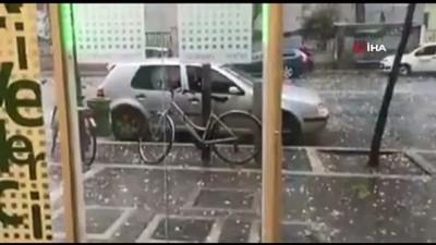 siddetli yagis -  - İtalya'yı Dolu Vurdu: 18 Yaralı - Sahil Kasabası Tortoreto'da Şiddetli Fırtına