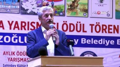 Şahinbey Belediyesi'nden aylık kitap okuma yarışmasında dereceye girenlere ödül