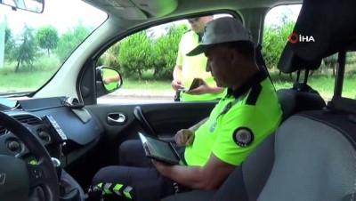 146 sürücüye 'Kırmızı ışık' cezası kesildi