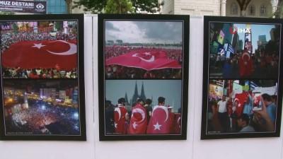 mermi -  15 Temmuz'u anlatan fotoğraflar 3'üncü yıl dönümünde Sultangazi'de sergileniyor