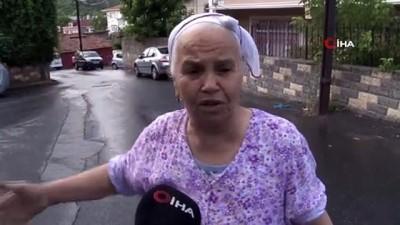 market -  Sarıyer'de yabancı uyruklu kadına gasp dehşeti