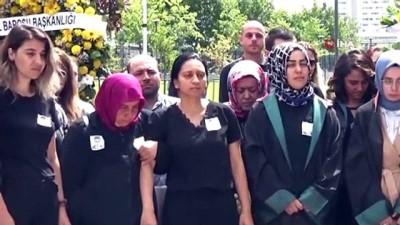misyon -  Ümraniye'de başından vurularak öldürülen avukat için adliyede cenaze töreni