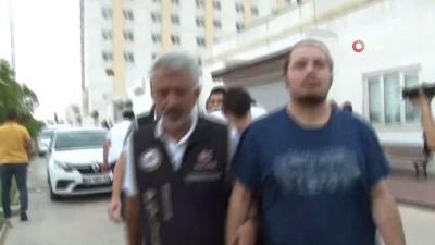 yakalama karari -  Adana merkezli FETÖ operasyonunda yakalanan polisler adliyeye sevk edildi