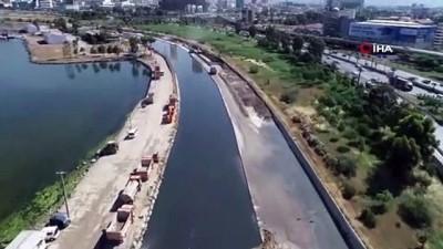 Derelerden 65 bin ton atık çıkarıldı