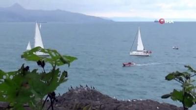 nani -  Herkül için yola çıkan yatçılar, Giresun adasına ulaştılar