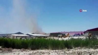 Isparta Kara Havacılık Okulu'nda yine yangın çıktı