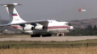 argo -  S-400 hava savunma sistemlerini getiren 4. uçak da geri dönmek için havalandı