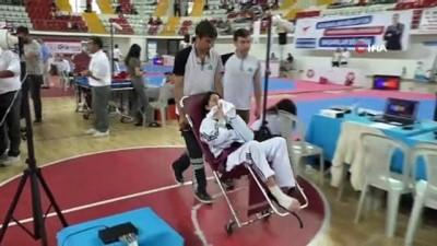 Ümitler Türkiye Taekwondo Şampiyonası Sivas'da başladı