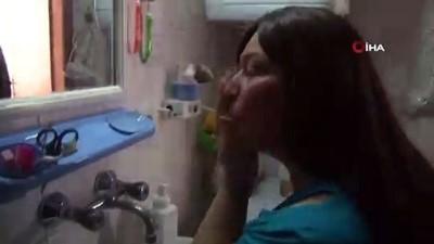 Yıllara sonra suyla barıştı, güneşle barışamadı...Güneşin erittiği kadının yaraları iyileşti, yıllar sonra doya doya yüzünü yıkadı