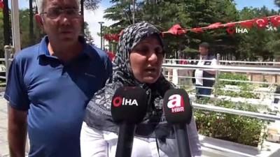 15 Temmuz yıl dönümünde kahraman şehit Halisdemir'e ziyaretçi yoğunluğu