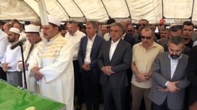 Abdullah Gül, Şanlıurfa'da eski AK Parti'li vekilin babasının cenazesine katıldı