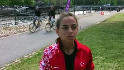 altin madalya - Ayşe Tekdal 20 km yürüyüşte altın madalya kazandı