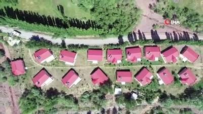 Bu köyde yetişen iş adamları, köylerini yeniden inşa etti