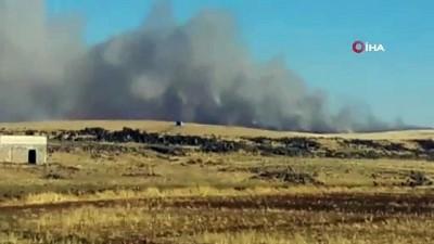asad -  Diyarbakır'da anız yangınları devam ediyor