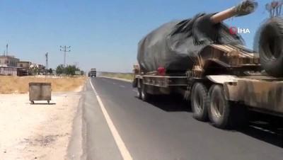 zirhli araclar -  Fırat'ın doğusuna askeri sevkiyat devam ediyor