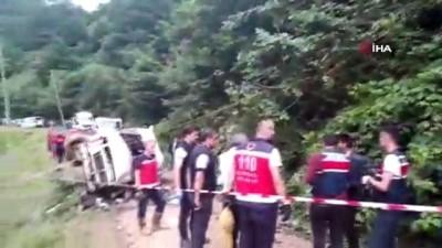 Giresun'daki kazada ölü sayısı 6'ya yükseldi