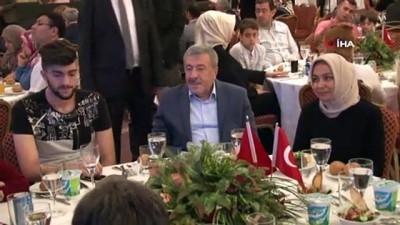 İstanbul Valisi Ali Yerlikaya, 15 Temmuz gazi ve şehit aileleriyle bir araya geldi
