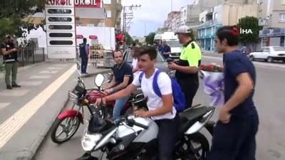 Kilis'te motosiklet uygulamaları arttırıldı