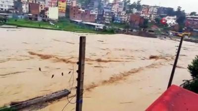 siddetli yagis -  - Nepal'daki Sel Felaketinde Ölü Sayısı 50'ye Yükseldi