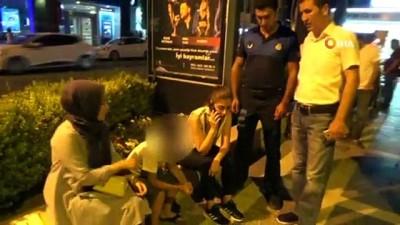 - Turizm kenti Marmaris'te sokakta çalışan çocuklara yönelik denetim