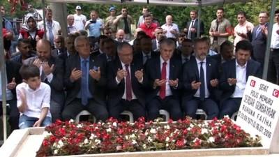 15 Temmuz şehidi Gökbayrak mezarı başında anıldı