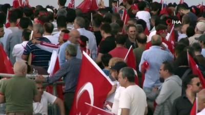guvenlik onlemi -  15 Temmuz şehitleri anma programı için Atatürk Havalimanı'nda hazırlıklar tamamlandı