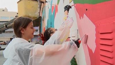 ispanya - Graffiti sanatçıları Ekaterinburg'un rengini değiştirdi