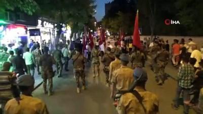 Kilis'te Milli Birlik Yürüyüşüne binlerce kişi katıldı