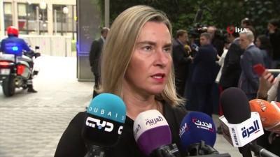 """telefon gorusmesi -  - Mogherini: """"Türk halkıyla dayanışmamız sorgulanamaz"""" - Mogherini'den 15 Temmuz açıklaması"""