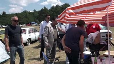 klasik otomobil -  Murat 124 sevdalıları Bilecik'te buluştu