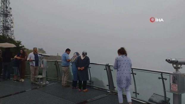 hava sicakligi -  Temmuz ayında Uludağ'a çıkanlar kışı yaşadı