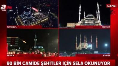 turkiye - 90 bin camide selalar okundu