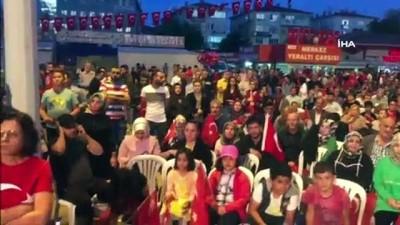 Ankara'nın Sincan ilçesinde 15 Temmuz coşkusu