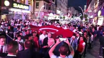 Gümüşhane'de 15 Temmuz Demokrasi ve Milli Birlik günü etkinlikleri